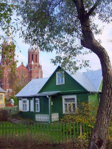 Žaliasis rašytojos namelis