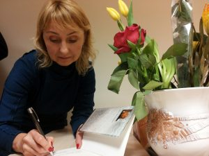 """Elena Karnauskaitė. Knygos """"Užpustomi"""" pristatymas Palangoje"""