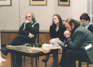 Pirmosios knygos pristatymas Vilkaviškio Kultūros rūmuose. Dalyvauja V.Kukulas, V.Girdzijauskas.
