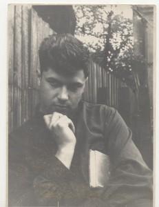 Trečio kurso studentas, Kaunas, 1966
