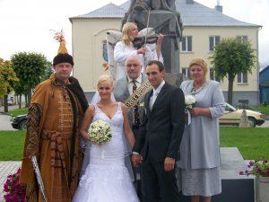 Kartu su Violeta. Gasparas - piršlys veliuoniškių vestuvėse, 2012