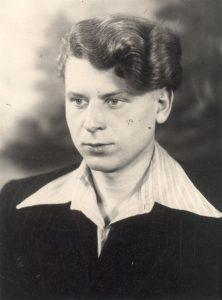 Vladas jaunystėje