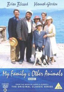 """Filmo """"Mano šeima ir kiti gyvūnai"""" afiša"""
