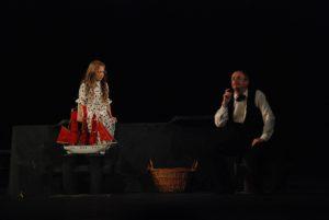 "Aleksandr Grin, ""Raudonosios burės"". Inscenizacijos autorius Eduard Gajdaj, 2008, Sankt Peterburgas. Teatras festivalis ""Baltijskij Dom"""