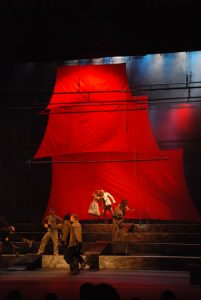 "Aleksandr Grin ""Raudonosios burės"" Inscenizacijos autorius Eduard Gajdaj, 2008, Sankt Peterburgas. Teatras festivalis ""Baltijskij Dom"""