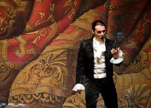 """Kostas Smoriginas """"Figaro vedybose. M. Aleksos nuotrauka (LNOBT)"""