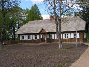 Žemaitės tėvų sodyba Bukantėje. Šiuo metu ten įkurtas Žemaitės muziejus