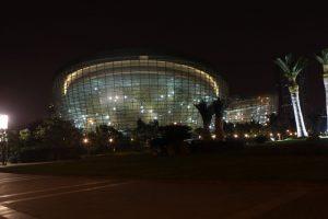 Šanchajaus Rytų menų centras. J. Patricko Fischerio nuotrauka