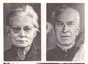 Marija Urbšienė-Mašiotaitė ir Juozas Urbšys. Nuotraukos, darytos Vladimiro kalėjime