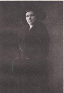 Marija Mašiotaitė Maskvos aukštųjų moterų kursų studentė apie 1915 m.