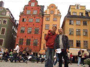 Su sūnumi Stokholme. 2009-ieji