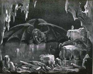 Dante's Pragaras. Gustave'o Dore iliustracija