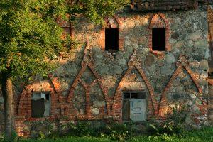 Rokiškio dvaro bravoro siena. R. Šileikos nuotrauka
