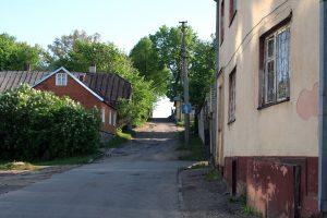 Mažoji Kalno gatvė. R. Šileikos nuotrauka