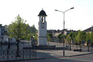 Miesto laikrodis Turgaus gatvėje. R.Šileikos nuotrauka