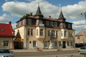 Gražiausias Rokiškio namas. R. Šileikos nuotrauka