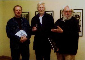 V. Stulpinas, A. Mažrimas ir V. Spitrys. Nuotrauka iš asmeninio archyvo