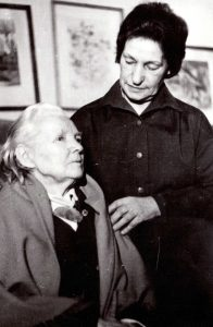 Bronė Buivydaitė ir Rožė Klimašauskaitė