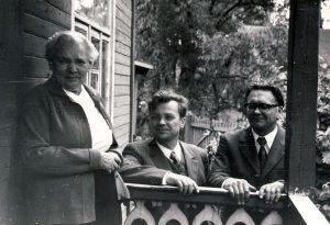 Bronė Buivydaitė. J. Baltušio nuotrauka
