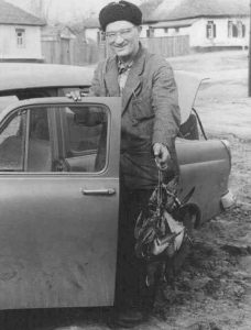 G. Trojepolskis vairuoja