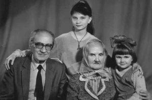 Trojepolskis su šeima