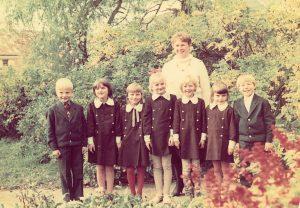 Su klase. 1989-ieji.