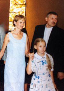 Su dukra Elze ir vyru Robertu