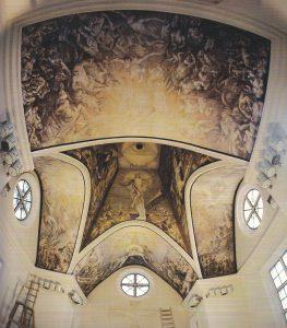 Rainių Kančios koplyčios freskos, 1991