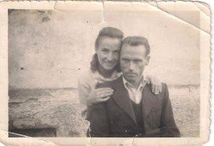 Tėvai Anelė ir Alfonsas Jonuškai