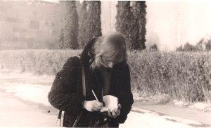 Nuolatos užsirašinėjanti... Armėnija, 1983.