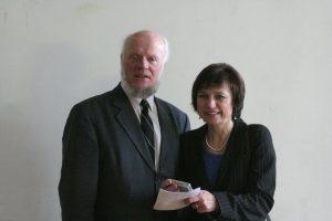 Su J. Apučiu 2007-aisiais. R. Šileikos nuotrauka