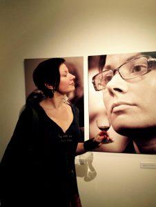 Per vertėjų portretų parodos atidarymą. Fotografavo Daiva Daugirdienė.
