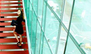 Džulijardo laiptais.