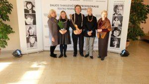 Akimirka iš apdovanojimų renginio. Varėnos kultūros centro nuotrauka.