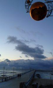 Šventinio dangaus šiek tiek. Neringos Dangvydės nuotrauka