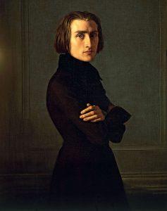 F. Lisztas. Henrio Lehmano paveikslas