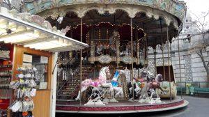 Paryžius. Monmartro Karuselė. Neringos Dangvydės nuotrauka
