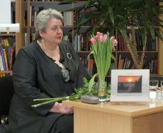 Dalia Savickaitė. Nuotrauka iš Ignalinos viešosios bibliotekos archyvo.