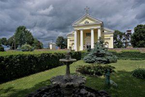 Mielagėnų Švento Jono Krikštytojo bažnyčia. E. Ostašenkovo nuotrauka.