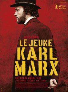 """""""Jaunasis Karlas Marksas"""". Filmo afiša."""