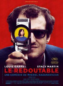 "Filmo ""Le Redoutable"" afiša."