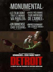 """""""Detroitas"""". Filmo afiša."""