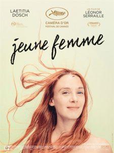 """""""Jeune femme"""". Filmo afiša."""