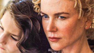 Įdėmus ir iškalbingas Annos (Nicole Kidman) žvilgsnis.