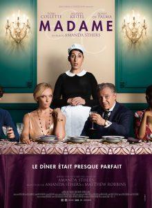 """Madame"". Komedijos afiša Prancūzijoje."