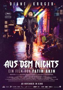 "Originalioji (vokiška) Fatiho Akino filmo ""Aus dem Nichts"" afiša."