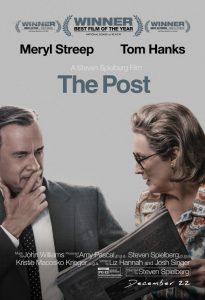 """Istorinės dramos """"The Post"""" afiša."""