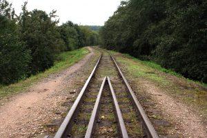 Anykščių geležinkelis. R. Šileikos nuotrauka