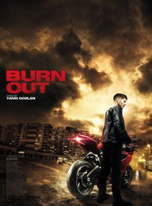 "Filmo ""Burn Out"" afiša."