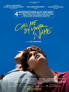 """Filmo """"Vadink mane savo vardu"""" afiša Prancūzijos kino teatruose."""